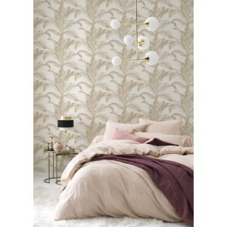 Palm Leaves - White And Gold 406818