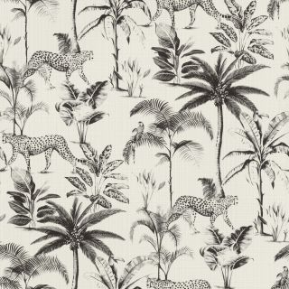 Exotic Cheetah - White and Black 409017