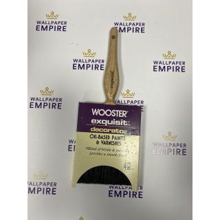 """Wooster Exquisite Oil Based & Varnishes Paint Brush 4"""""""