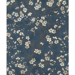 Blossom - Navy and Cream 456738