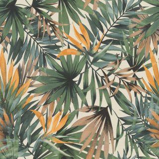 Lush Tropical Palm - Green Multi 465211