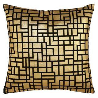 Satoni Black and Gold Cush/Pillow 10in - 4771