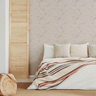 Fresco Apple Blossom Neutral Wallpaper - 51-067