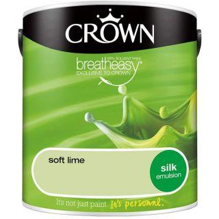 CROWN SILK EMULSION - SOFT LIME 2.5L
