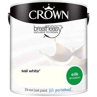 CROWN SILK EMULSION - SAIL WHITE 2.5L
