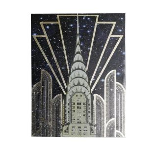 Gold Chrysler Canvas 6in - 5286