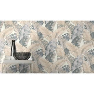 Textured Palm - Grey 535617