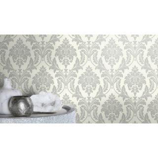 Shimmering Damask - Silver 541625