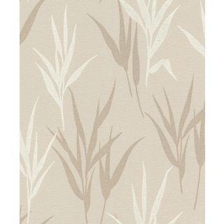Shimmering Leaves - Cream Beige 541915