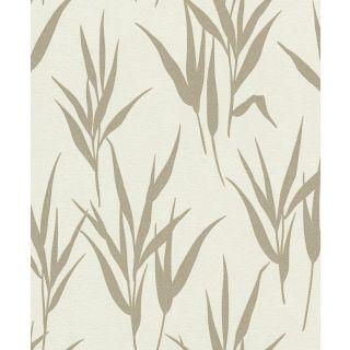 Shimmering Leaves - Cream Gold 541939