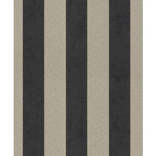 Shimmering Stripe - Charcoal Antique Gold 542363