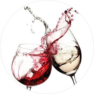 Wine Glasses Kitchen Theme 5425-R
