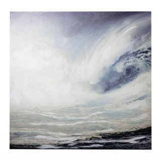 Wave Canvas 8 in - 5429