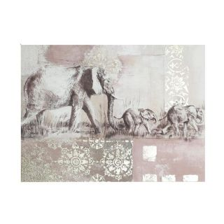 Elephant Canvas 6 in - 5438