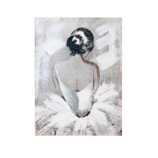 Ballerina Canvas 8in - 5449