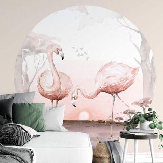Kvilis Flamingos At sunset Kids Room Theme 5557-R