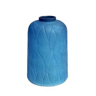 AH Blue Vase 9 in - 5582