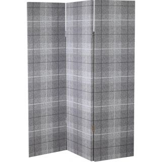 Country Check Charcoal Screen 1in - 5587