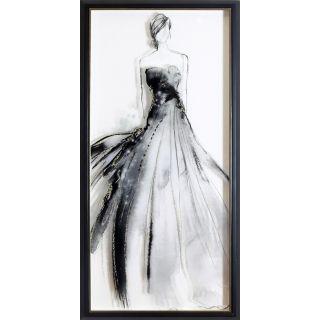 Glitter Lady 1 Framed Print 2 in - 5554