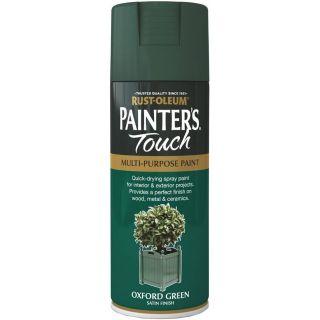 Rust-Oleum Painter`s Touch Multi Purpose Satin Spray Paint 400ML-Oxford Green