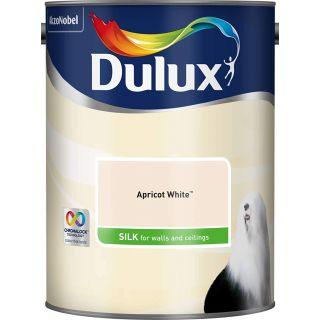 Dulux Apricot White- silk- 5L