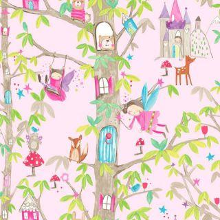 Woodland Fairies Pink 667000