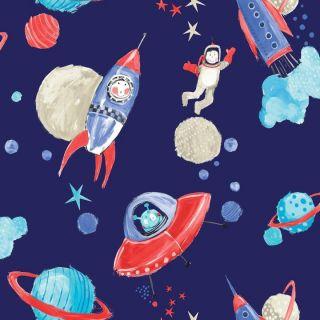 Star ship blue 668000 Space Wallpaper