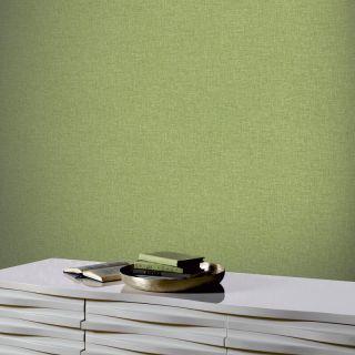 Linen Texture Moss Green 676008