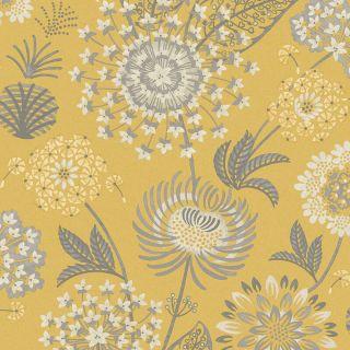 Vintage Bloom Mustard Yellow 676206