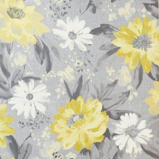 Painted Dahlia Floral Ochre 676208