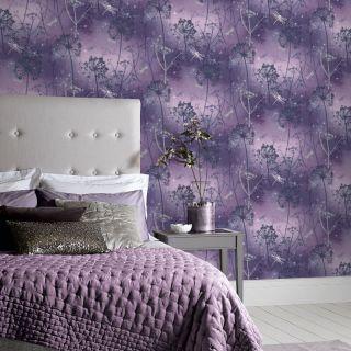 Damselfly Purple 692306