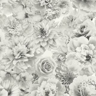 Glitter Bloom Silver 692803