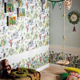 Jungle Mania 696008 Animal Wallpaper