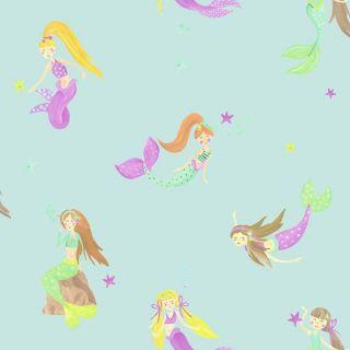 Mermaid World Teal 696103