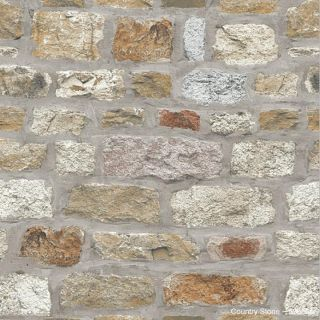 Arthouse Country Stone Wallpaper Brick Wall Grey Beige Natural Rustic 3d 696500