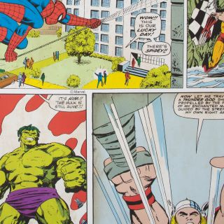 Marvel Comic Strip Wallpaper - 114913 A