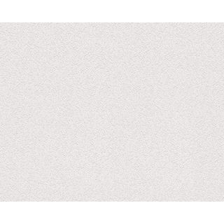AS Creation 6664-13 - White Blown Paintable Wallpaper