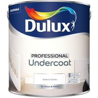Dulux Professional Undercoat Paint For Wood And Metal 2.5L