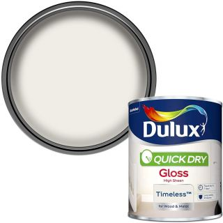 Duluxuick Dry Gloss Paint For Wood And Metal - Timeless 750Ml