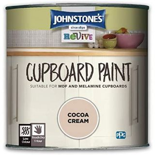 Johnstones Revive Cupboard Paint - Cocoa Cream 750Ml