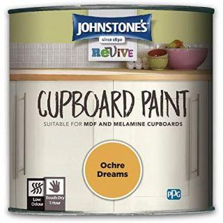 Johnstones Revive Cupboard Paint - Ochre Dreams 750