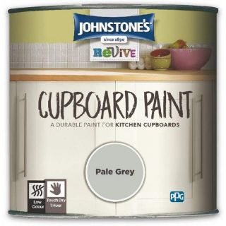 Johnstones Revive Cupboard Paint Pale Grey 750ml