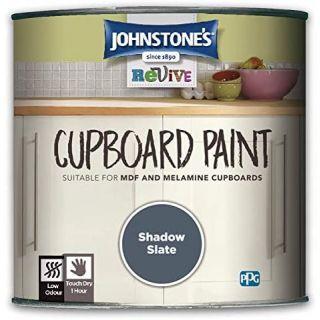 Johnstones Revive Cupboard Paint Shadow Slate 750ml