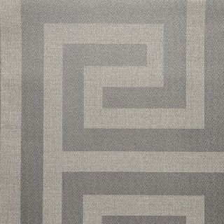 Belgravia Decor Giorgio Greek Key Wallpaper - Silver 8109