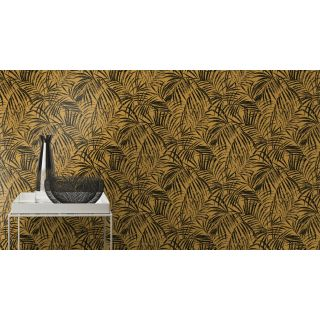 Perfect Palms - Mustard With Black 832136