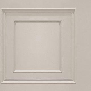 Oliana Wood Panel Wallpaper Belgravia 8493 Cream