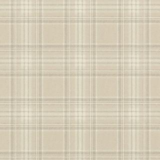 Highland Plaid Cream 861716