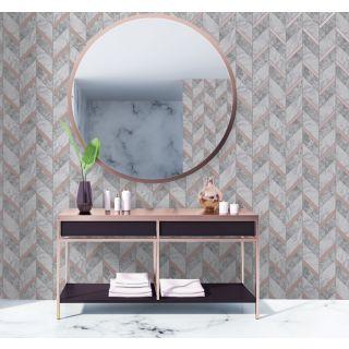 Holden Decor Kitchen/Bathroom - Charcoal/Rose Gold 89342