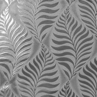 Foil Embossed Leaf Silver 901804