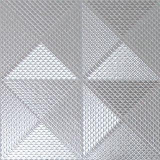 Geo Diamond Foil Silver 903300